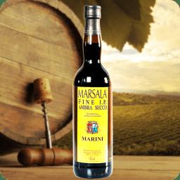 Marsala IP Fine DOC Semi Seca MariniLombardoCaja con 12 botellas de 1l