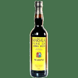 Marsala IP Fine DOC Semi Seco MariniLombardoCaja con 12 botellas de 1l