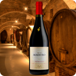 Primitivo IGT, Vigne del Maestro, Cosecha 2015, Caja con 6 botellas de 750ml