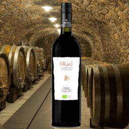 Vino Orgánico Merlot, Ekuó, Cosecha 2015, Caja con 6 botellas de 750ml