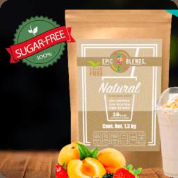 Base Para Bebidas Sugar Free Sabor Natural