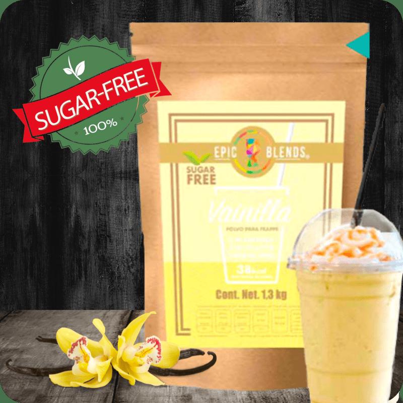Base Para Bebidas Sugar Free Sabor Vainilla