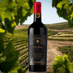Casa Defrà, Colli Berici Rosso Riserva, Cosecha 2015, Caja con 6 botellas, contenido por botella 750ml