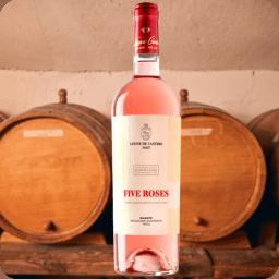 Five Roses Aniversario IGT, Leone de Castris, Cosecha 2018, Caja con 6 botellas de 750ml