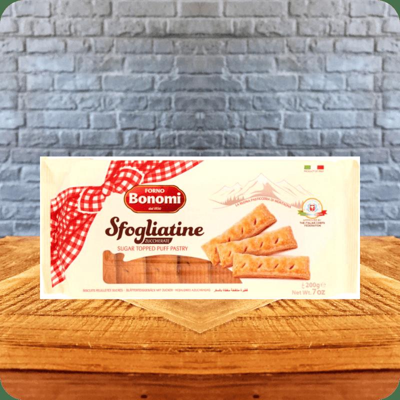 Galletas Sfogliatine Zuccherate