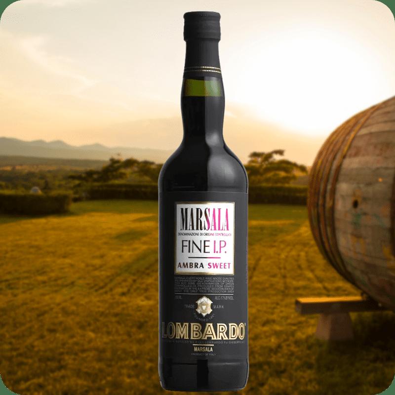Marsala IP Fine Dulce Marinni DOC, Lombardo, Caja con 12 botellas de 750ml