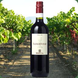 Sangiovese IGT, Rocca, Cosecha 2016, Caja con 6 botellas de 750ml